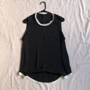 Black Business Casual Top